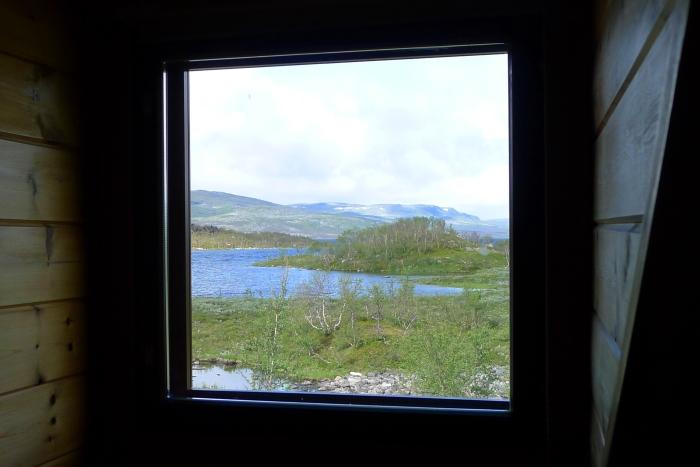 """Widok z naszego """"hotelowego"""" okna"""