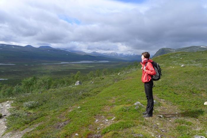 Na horyzoncie norweskie góry