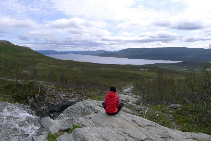 Widok na jezioro Kilpisjärvi
