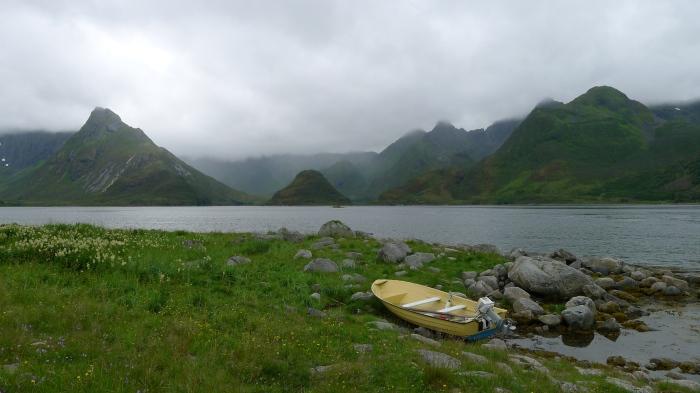 Na Lofotach nietrudno o ładne widoki (mimo chmur i deszczu)