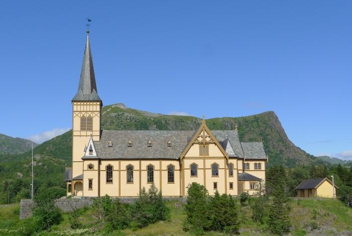 Kościół niedaleko Svolvær