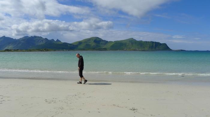 To nie są Karaiby, tylko plaża koło miejscowości Ramberg