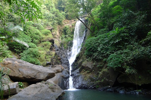 Wodospad w Savare