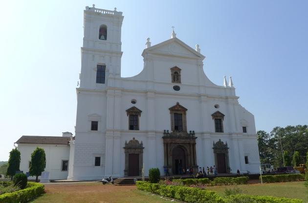 Katedra Sé, jedna ze świątyń w Starym Goa