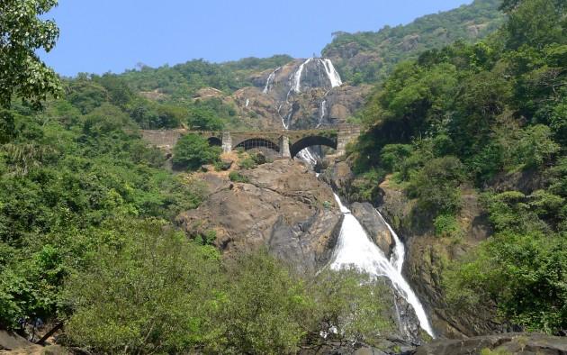 Wodospady Dudhsagar