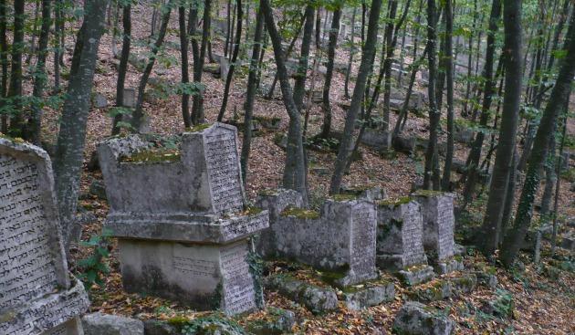 Cmentarz karaimski w Czufut-Kale