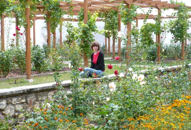 Różane ogrody otaczające pałac chanów krymskich