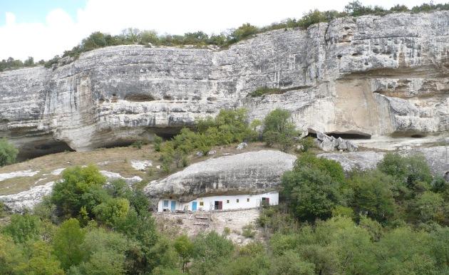 Dom w skale niedaleko Bakczysaraju