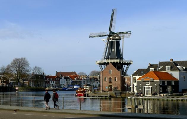 Rzeka Spaarne, Haarlem