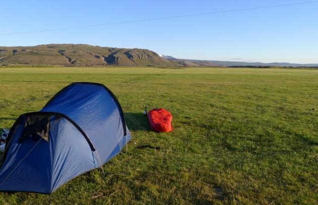 Miejsce, w którym przeżyłam najzimniejszą noc na Islandii (niedaleko lodowca Langjökull)