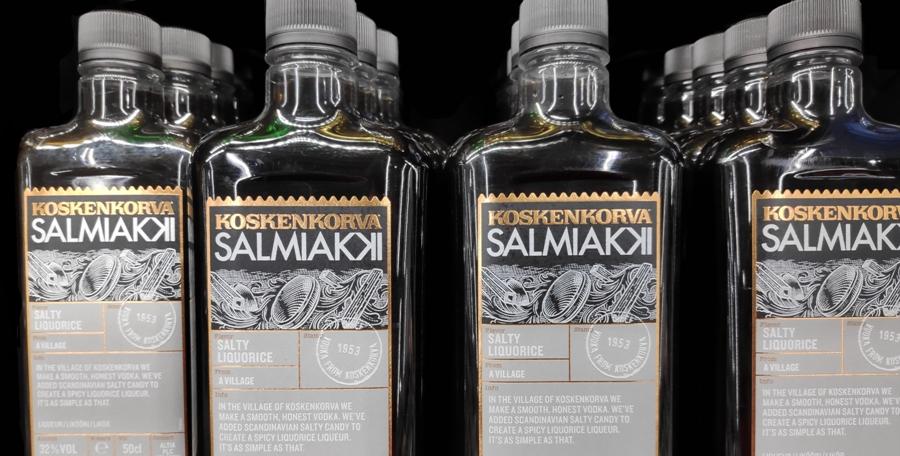 Wódka o smaku salmiaku