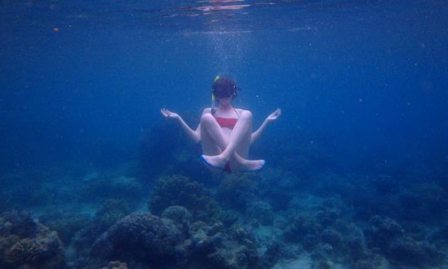 Snorkeling przy plaży Sandugan