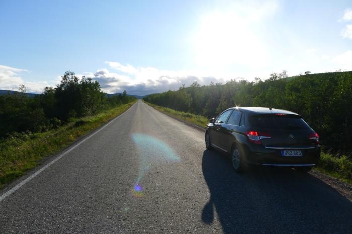 Lapońskie drogi