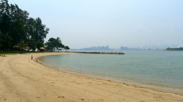 Plaża na Wyspie Świętego Jana