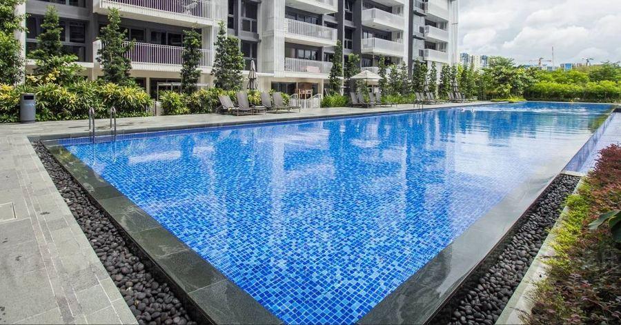 Prywatne osiedle w Singapurze