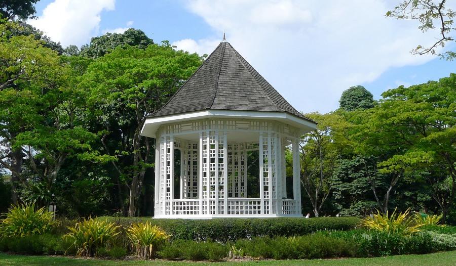 Altana w Ogrodach Botanicznych