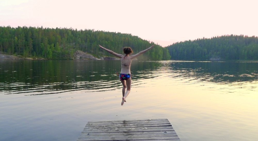 Lato w Finlandii