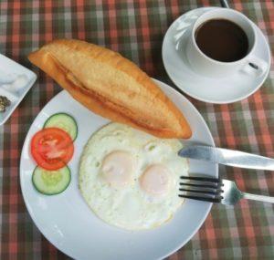 Hoi An - śniadanie
