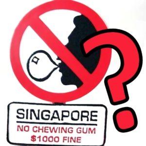 Zakazy w Singapurze