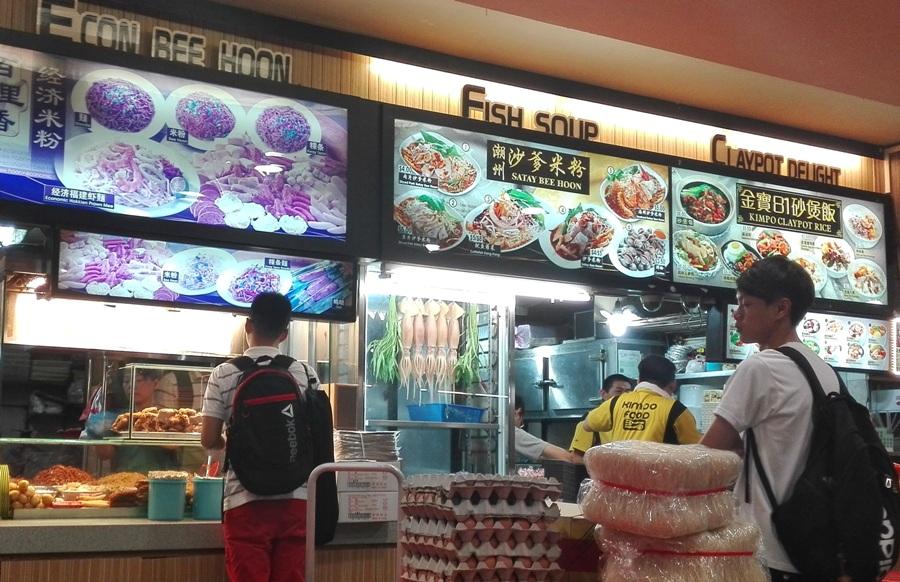 Singapur - hawker food