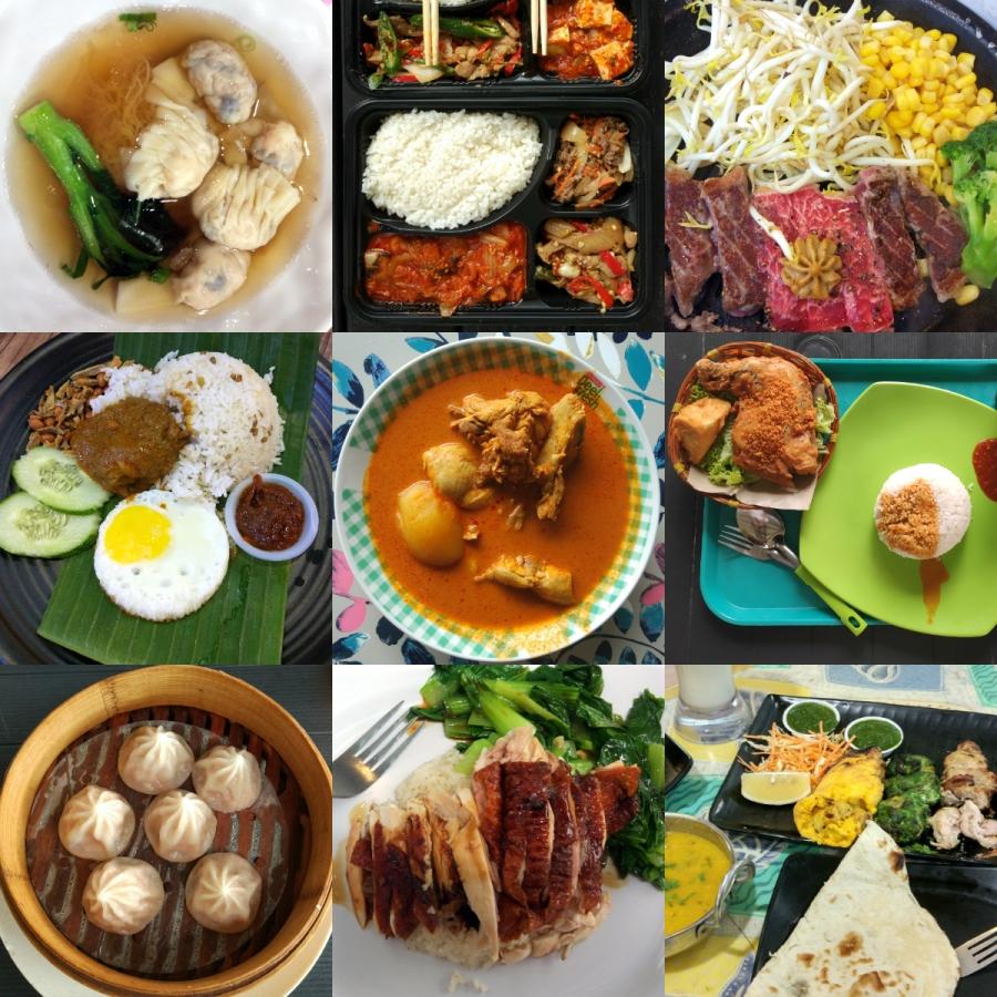 Singapur - kuchnia