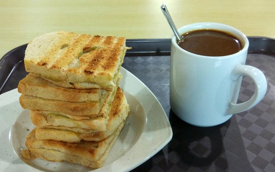 Singapur - śniadanie