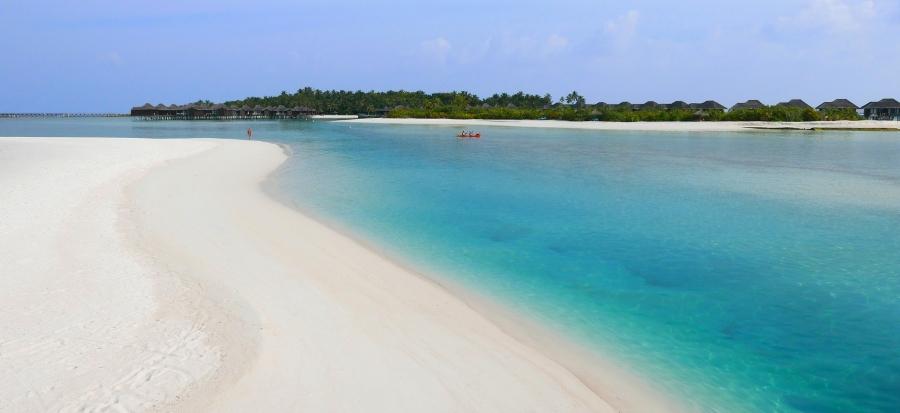 Malediwy - plaża