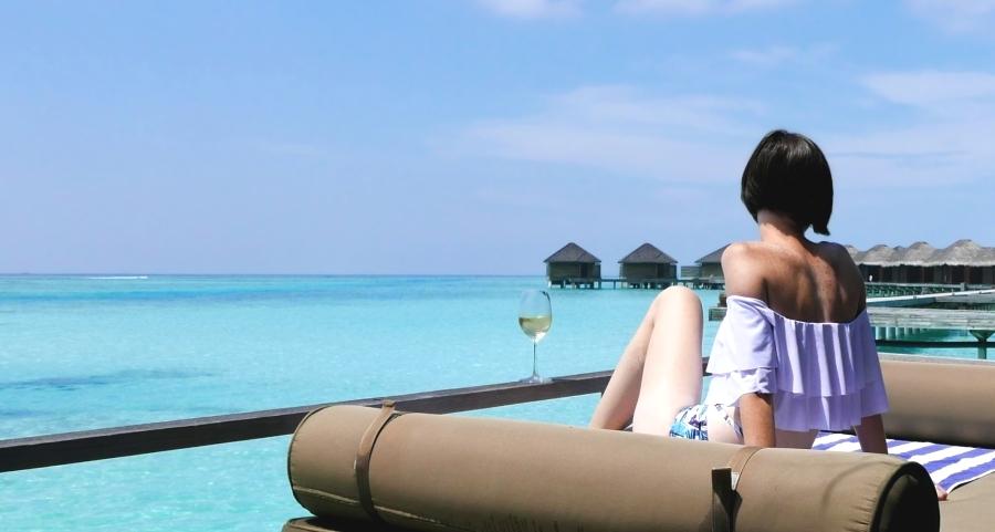 Malediwy - private island