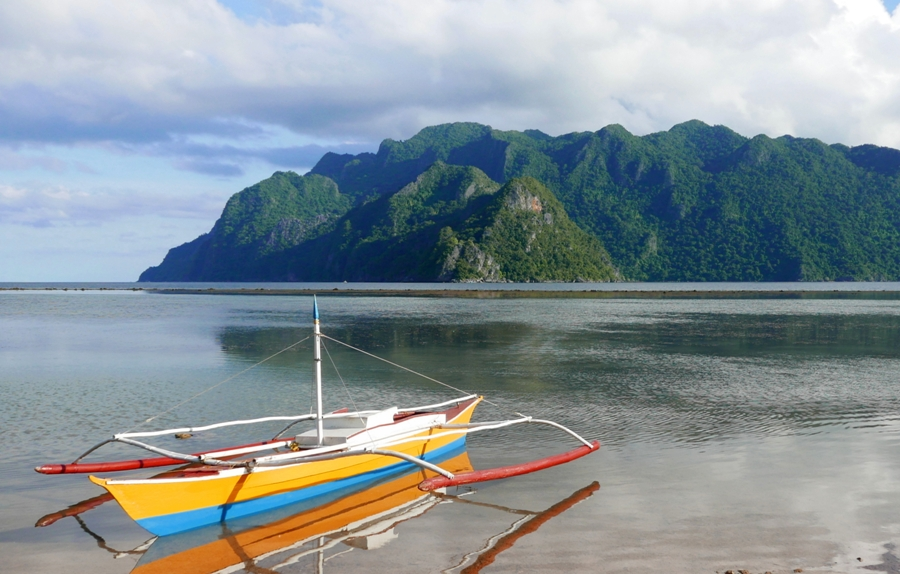 Coron Island - widok z Coron