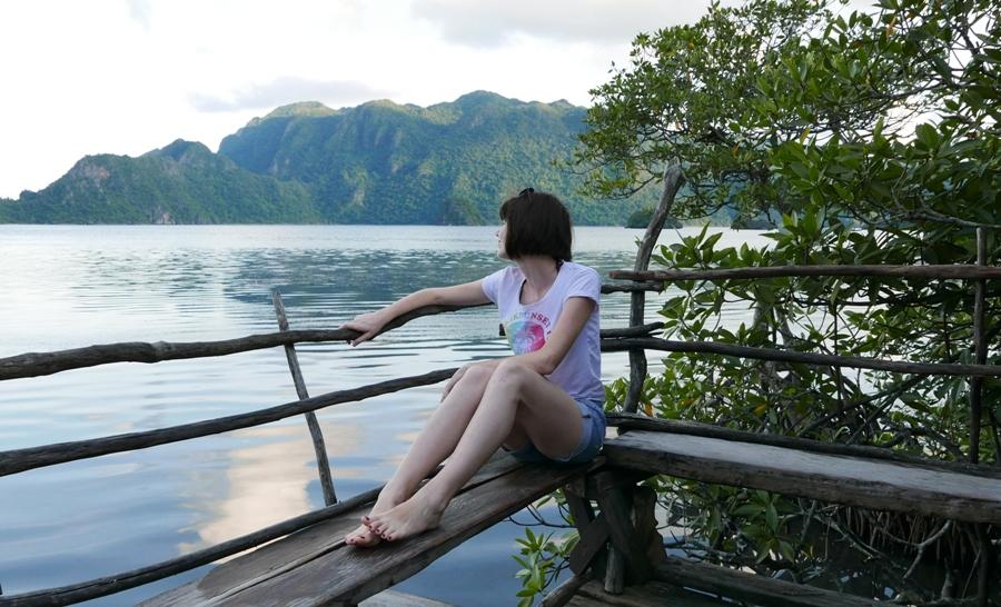 Źródła Maquinit - widok na Coron Island