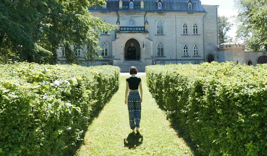 Zamek w Laitse