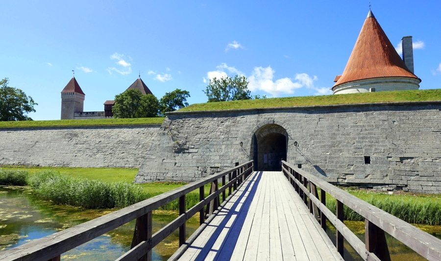 Zamek Biskupi w Kuressaare