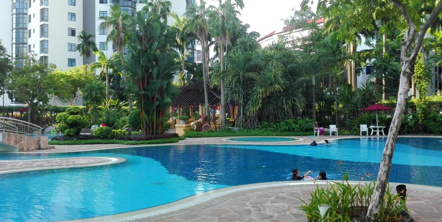 Singapur - kondominium na Lakeside