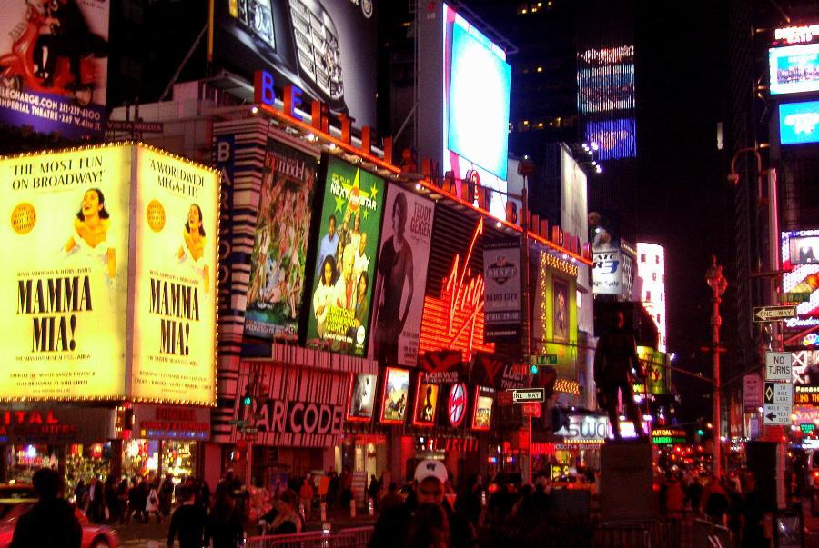 Dziwne podróże - Broadway