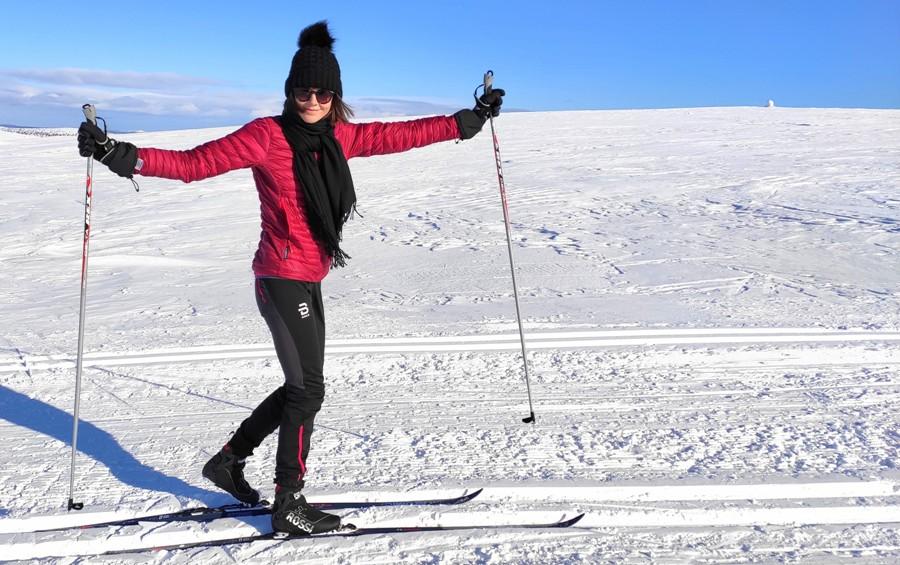 Trekking w Finlandii - narty biegowe