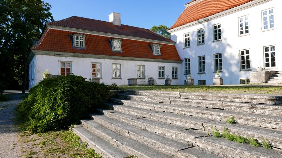 Hiuma - Suuremoisa - barokowy dwór